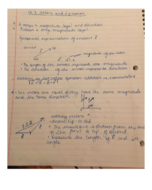 PHY 111 - Class Notes - Week 4