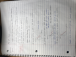ECO 2013 - Class Notes - Week 2