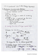 CHM 2210 - Class Notes - Week 3