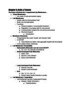 UD - BISC 276 - Study Guide - Midterm