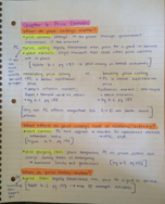 ECON 2214 - Class Notes - Week 5
