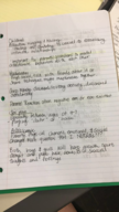 HED 320 - Class Notes - Week 4