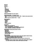 UD - OTH 242010 - Study Guide - Midterm