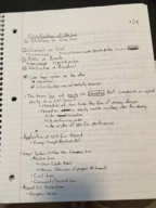 Tulane - LGST 3010 - Class Notes - Week 3
