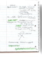 ECON 1201 - Class Notes - Week 4