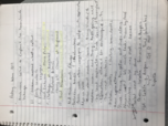 UH - HIST 1376 - Class Notes - Week 1