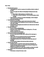 ANTH 210 - Class Notes - Week 5