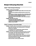 csulb - ANTH 1001 - Study Guide - Midterm