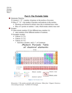 Illustrate the modern periodic table of chemical elements.