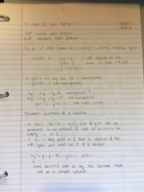 LA Tech - MATH 245 - Class Notes - Week 4