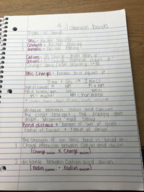 CHEM 10060 - Class Notes - Week 7
