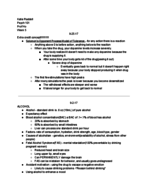 PSY 101 - Class Notes - Week 5