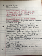 ECO 2013 - Class Notes - Week 6