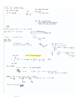PHY 121 - Class Notes - Week 5