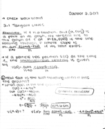UM - MATH 161 - Class Notes - Week 5