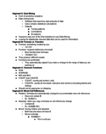 ACIS 1504 - Class Notes - Week 6