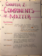 CHM 113 - Class Notes - Week 3