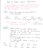 lewis structure notes