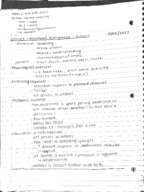 PSY 364 - Class Notes - Week 6