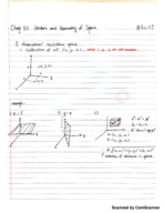 UM - MATH 211 - Class Notes - Week 1