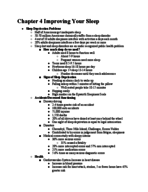 HTH 100 - Study Guide