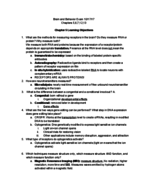 PSB 2000 - Study Guide