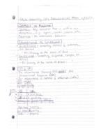 PSY 101 - Class Notes - Week 6