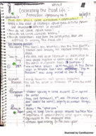 IUF 1000 - Class Notes - Week 8