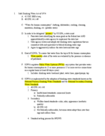 University of Findlay - ESOH 300 - Study Guide - Midterm