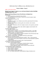 W&M - PSY 203 - Study Guide - Midterm
