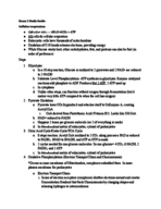 UH - BIOL 1361 - Study Guide - Midterm