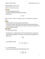 Concordia University - CHEM 234 - Study Guide - Midterm