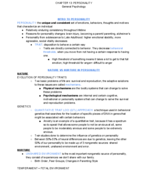 PSY 1010 - Class Notes - Week 8