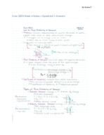 ECON 103 - Class Notes - Week 4