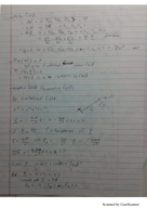 MATH 2010 - Class Notes - Week 6