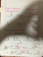 CHEM 2410 - Class Notes - Week 10