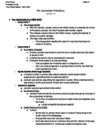 HIS 315 - Class Notes - Week 9