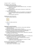 CHM 115 - Class Notes - Week 11
