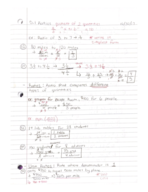 MATH 097 - Class Notes - Week 9