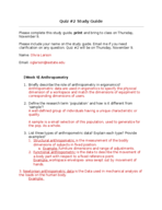INDD 251 - Study Guide