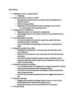 ANTH 210 - Class Notes - Week 10