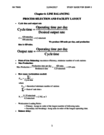 OPSM 3830 - Study Guide