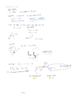 PHY 121 - Class Notes - Week 10