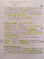 CHM 116 - Class Notes - Week 12