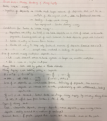 ECON 203 - Class Notes - Week 7