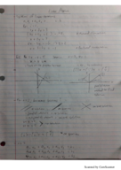 MATH 2010 - Class Notes - Week 7