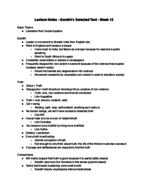PHIL 2010 - Class Notes - Week 12