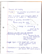 ECON 2106 - Class Notes - Week 9
