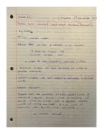 Concordia University - Mat 208 - Class Notes - Week 10