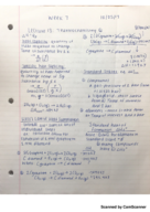 CHM 115 - Class Notes - Week 7